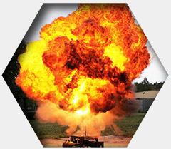 Badanie parametrów wybuchowości