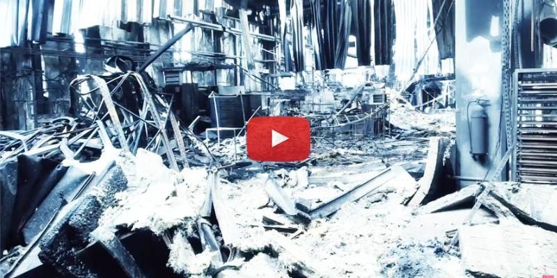 Jak zareagował ubezpieczyciel po pożarze zakładu produkcyjnego Coko Werk w Łodzi? Straty oszacowano na 150 mln zł.